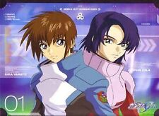 Gundam Seed Kira and Athrun Art Print Poster Anime MINT