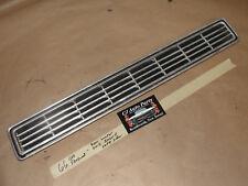 OEM 66 Cadillac Fleetwood LEFT REAR BUMPER GRILL FINNED INSERT FILLER PANEL TRIM