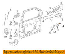 GM OEM Front Door-Striker Screw 11589019