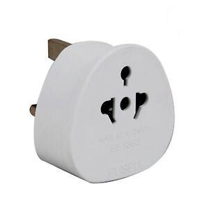 3Pin UK-USA AUS AU US To UK New Visitor Adaptor Universal Plug Travel Adaptor
