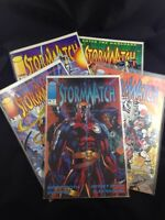 Stormwatch Image Comics 5 Comic Book Lot Stormwatch Issues 0 1 2 3 4 Excellent