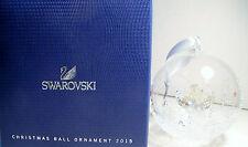 GORGEOUS SWAROVSKI CRYSTAL 2015 LIMITED EDITION CHRISTMAS ANGEL BALL ORNAMENT
