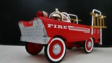 1950 Chrysler Pedal Car Fire Truck Vintage Metal  - NOT a Child Ride On Toy