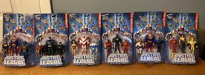 2005 Justice League unlimited Action Figure 3 packs collection *collectors dream