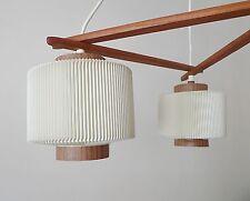 Rispal lustre scandinave abat jour design années 50 70 en plastique Rhodoïd