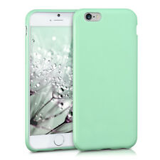kwmobile TPU Schutz Hülle für Apple iPhone 6 6S Mintgrün matt Case Silikon Soft