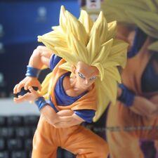 DragonBall Z Son Gokou Action Figure 18CM Goku Toy Super Saiyan 3 Kamehameha NIB