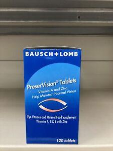 Bausch E Lomb PreserVision Compresse 4 X 120. Exp 11/22