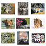 Wolf Fox Tiger Animal Canvas Poster Picture Living Room Wall Hangings Home Decor