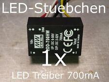 LED DC/DC Konstantstromquelle 700mA, LDD-700 HW, LED-Treiber step-down