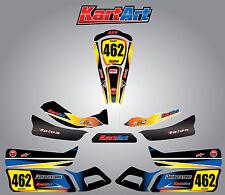 Arrow AX9 full custom KART ART sticker kit SUNRISE STYLE / graphics / decals