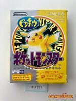 POCKET MONSTER Pikachu Yellow Pokemon Nintendo Gameboy JAPAN Ref:315231