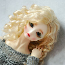[PF] Wig Curly For BJD Doll Dollfie 1/6 1/4 MSD 1/3 SD DZ YOSD DZ Outfit