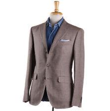 NWT $1575 BOGLIOLI Birdseye Patterned Silk-Linen-Wool Sport Coat 38 R (Eu 48)