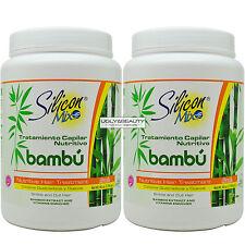 "Silicon Mix Bambu Bamboo Nutritive Hair Treatment Net Wt. 60 Oz. ""Pack of 2"""