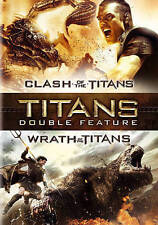 Clash of the Titans/Wrath of the Titans (DVD, 2015, 2-Disc Set) Brand New