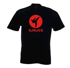 KARATE MARTIAL ARTS KIDS T SHIRT ALL SIZES