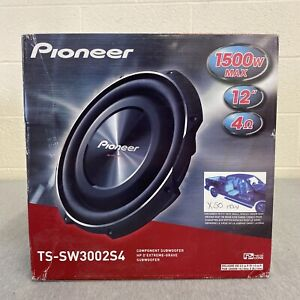 Pioneer TS-SW3002S4 12 inch 1500w One Way Car Subwoofer Shallow Mount