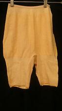 30s Vintage Peach Pink Myrna Knit Sex Pot Bloomers Underwear Panties S