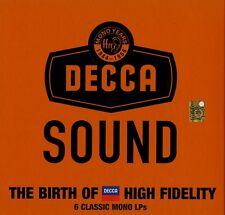 THE DECCA SOUND MONO YEAR THE BIRTH OF DECCA HIGH FIDELITY 6 VINILI LP 180 GR. !