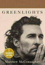SIGNED MATTHEW MCCONAUGHEY GREENLIGHTS 1ST EDITION Autograph