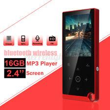 16Gb Portable Touch Screen bluetooth Mp3 Mp4 Music Player Hifi Video Fm & Am