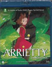 "Blu-ray : ARRIETTY "" Le Petit Monde des Chapardeurs "" Studio GHIBLI / NEUF cello"