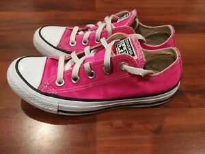 Converse Chuck Taylor All Star Pink Pow 157646F Shoes Sneakers Mens 4 Womens 6
