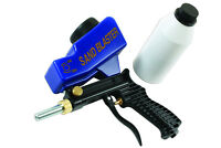 Gunson Tools Sand Blaster Gun Kit - ABS Body - In Storage Case + Bottle of Sand