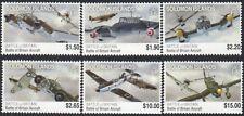 Solomon Islands 2010 MNH 6v, Battle of Britain, Fighter Aircraft, Aviation (G3n)