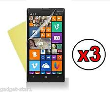 3x HQ CRYSTAL CLEAR SCREEN PROTECTOR COVER SAVER FILM GUARD FOR NOKIA LUMIA 930