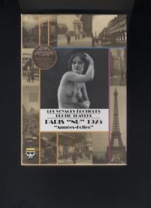 (213A) CD-ROM Voyages érotiques  erotic travels PARIS NU 1925 Années folles