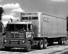 1956 Diamond T 921C COE Truck Photo Motor Cargo Line c6984-ACTD8B