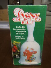 Norman Rockwell Christmas Collector's Bell 1986 Mib