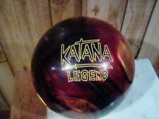 Radical Katana Legend used 1st Quality Bowling Ball Black/Red/Gold, 14 lb