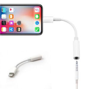 Lightning Adapter iPhone AUX 3.5mm Klinke Stecker Kopfhörer iPad Audio Kabel KFZ