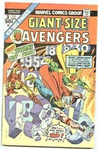 Marvel Comics: Avengers Giant-Size #3 (1st Series)  VF+
