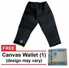 Hot Shapers Smart Fabric Shapewear (Black) with FREE Canvas Wallet -MEDIUM