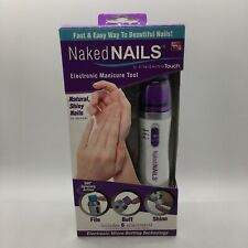 Finishing Touch Naked Nails Electronic Manicure Tool