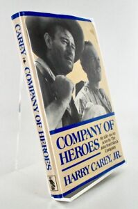 Harry CAREY Jr. / COMPANY OF HEROES My Life as an Actor in the John Signed 1st