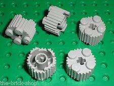 5 x LEGO MdStone Brick Round with Grille ref 92947 / set 4192 2506 9499 75171...
