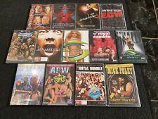 WWF WWE ECW DVD WCW BULK LOT 13 DVDs