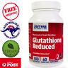 Jarrow Formulas Glutathione Reduced 500 mg 60 Vegan Caps Gluten Free Non GMO