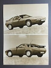 1989 Porsche 928 S4 Coupe B&W Press Photo Factory Issued RARE!! Awesome L@@K