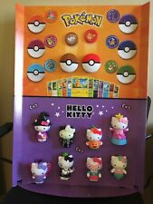 McDonald's Hello Kitty/Pokemon Happy Meal Toy Display