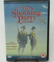 THE SHOOTING PARTY - COLLECTOR'S EDITION DVD MOVIE, JAMES MASON, REGION 2, 4 PAL