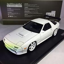1/18 IG ignition #I1024 Mazda Savanna RX-7 (FC3S) White GT Wing G
