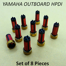 Fuel Injector Basket Filter HPDI - Mystery Filter Set of 8 for Yamaha Outboard