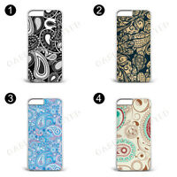 VARIOUS PAISLEY PATTERN DESIGN CASE COVER FOR APPLE IPHONE MOBILE PHONES