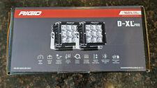 Rigid White D-XL Pro Flood Lights 2 Pack